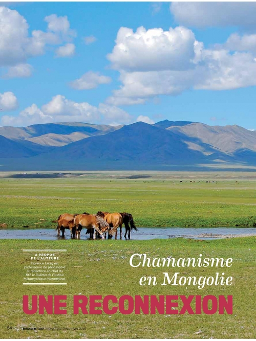 NEX107 Chamanisme en Mongolie
