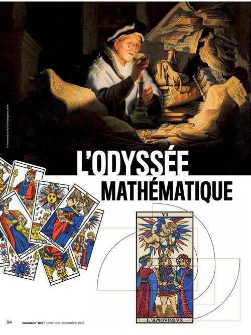 NEX107 Odyssée mathématique du tarot