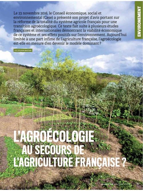 NEX108 p2 L'agroécologie au secours de l'agriculture française ?