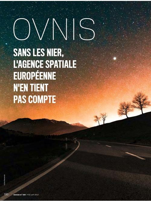 NEX110 Ovnis et Agence spatiale européenne