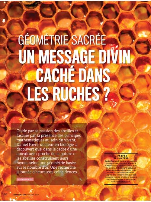 NEX110 Un message divin caché dans les ruches