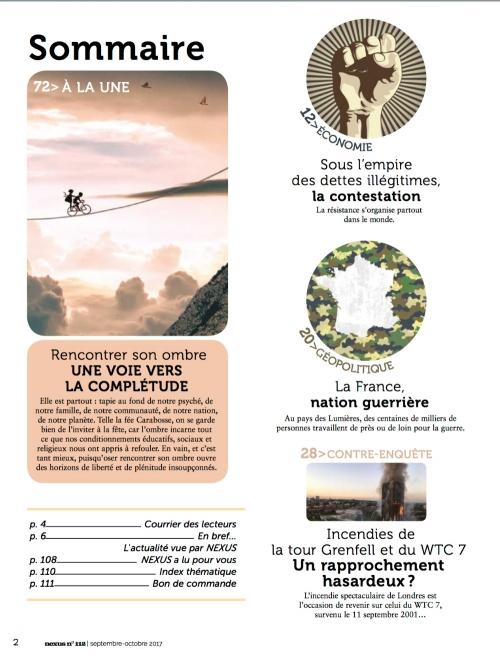 N° 112 (septembre-octobre 2017) 2