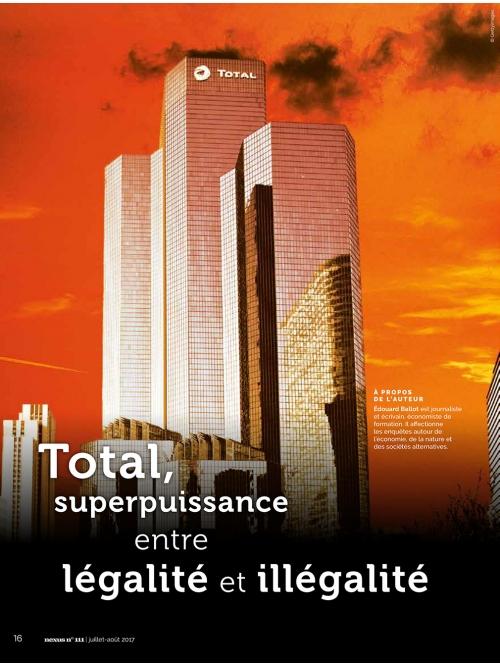 NEX111 TOTAL entre légalité et illégaté