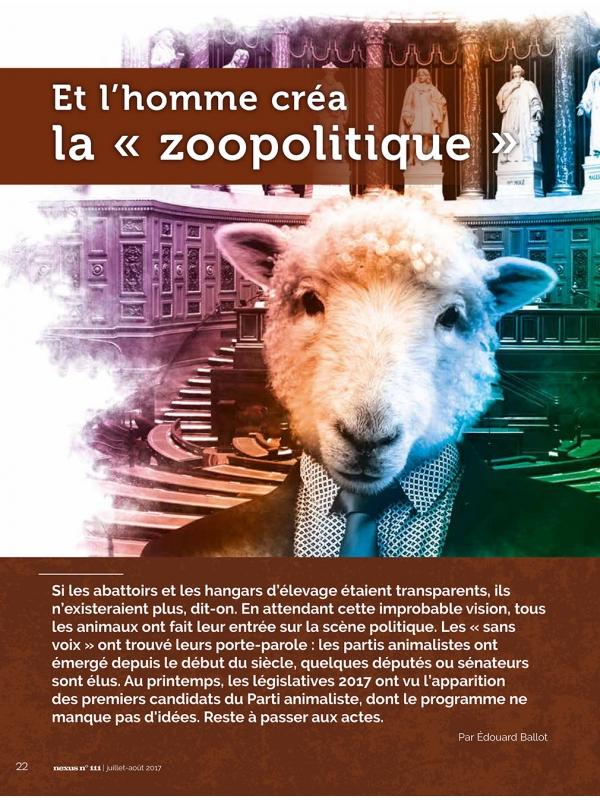NEX111-1 Et l'homme créa la zoopolitique