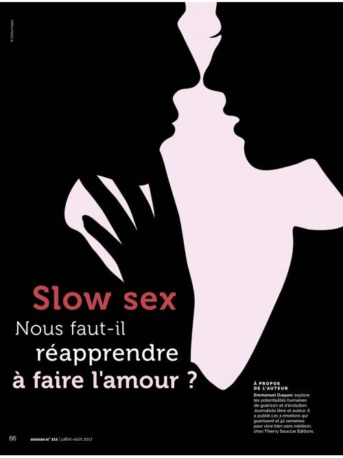 NEX111 Slow sex : réapprendre à faire l'amour