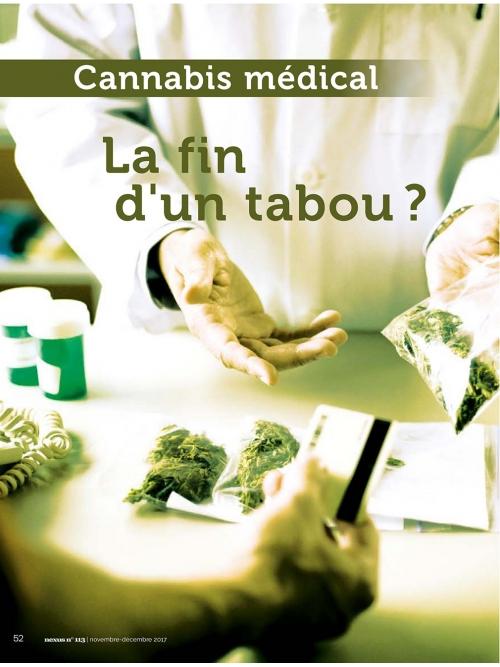 NEX113 Cannabis médical la fin d'un tabou