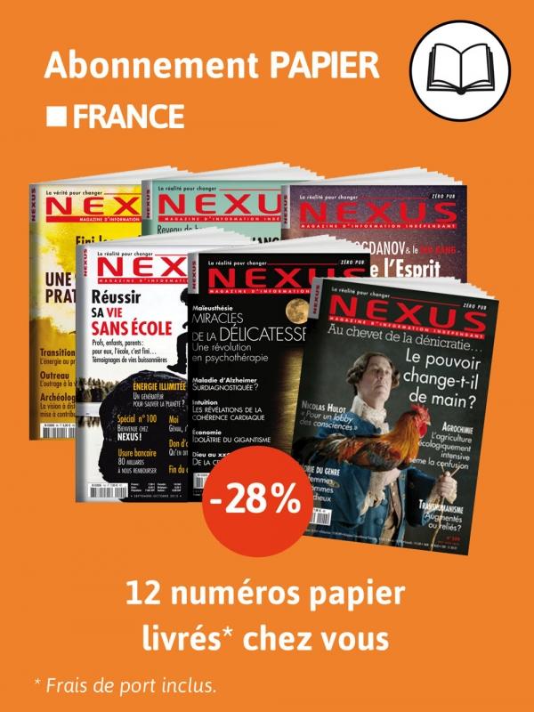 Abonnement France papier 2 ans