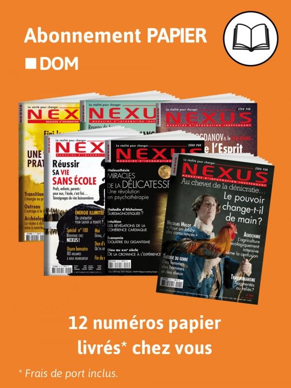 2 ans Abonnement DOM Papier