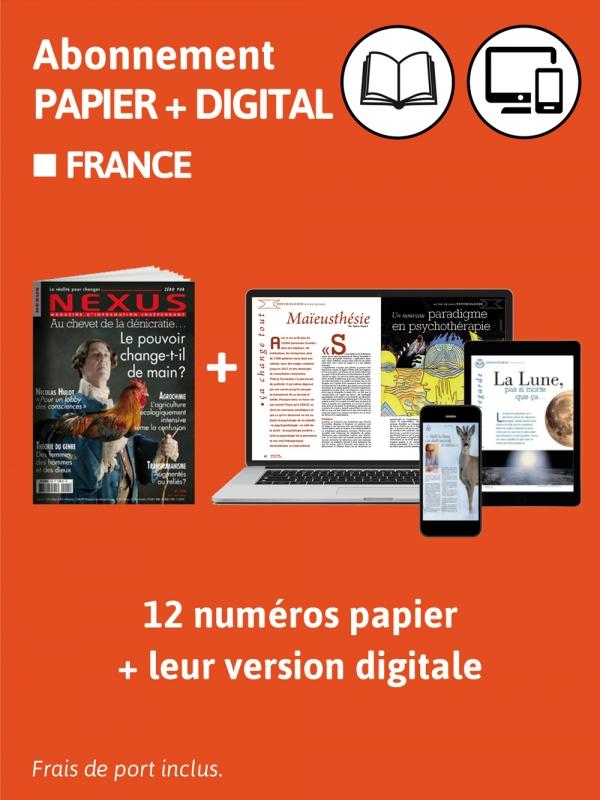 Abonnement papier + digital 2 ans
