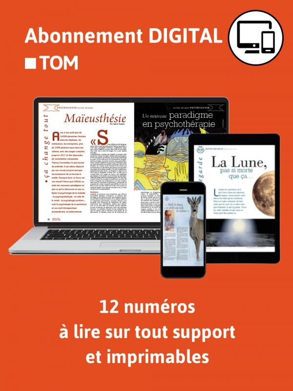 2ans Abonnement TOM Digital