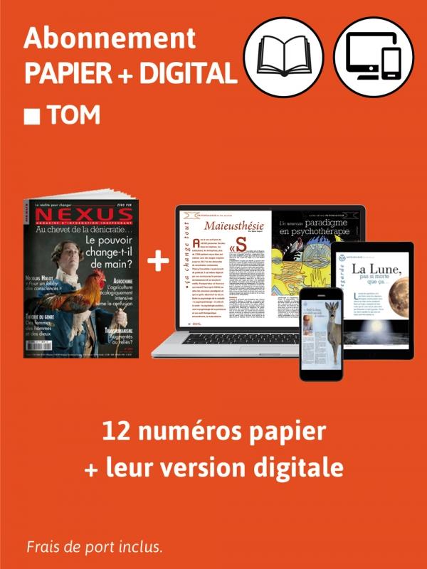 2ans Abo. TOM Papier + Digital