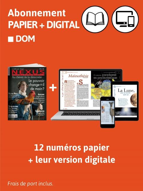 2 ans Abo. DOM Papier et Digital