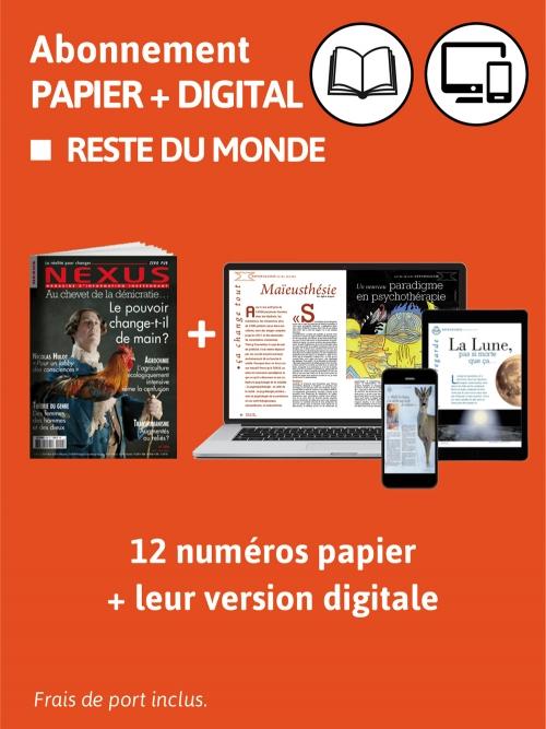 2 ans Abo. Monde Papier et DIG