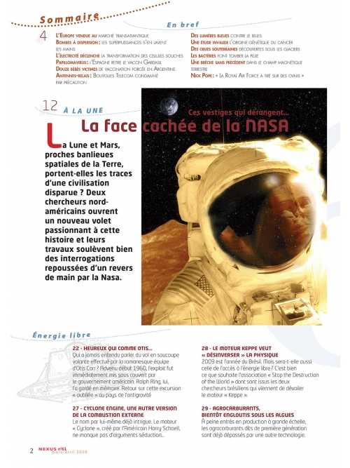 P2 N° 61 (mars-avril 2009)
