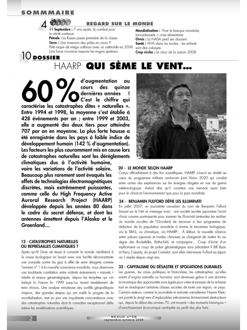 P2 N° 58 (sept.-oct. 2008)