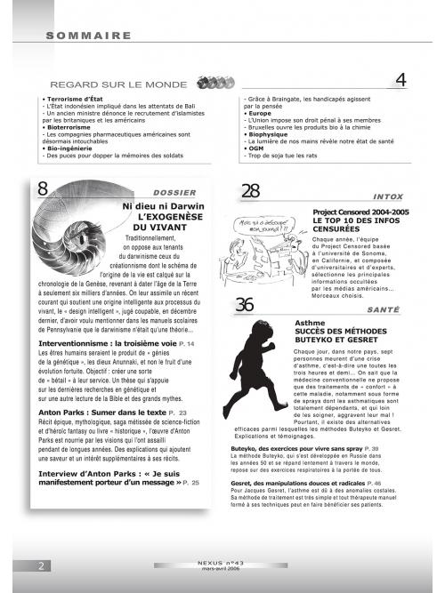 P2 N° 43 (mars-avril 2006)