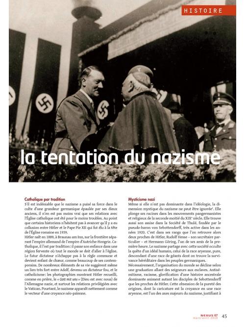 NEX067-Vatican la tentation du nazisme