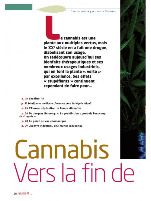 NEX068-Cannabis vers la fin de l'hypocrisie