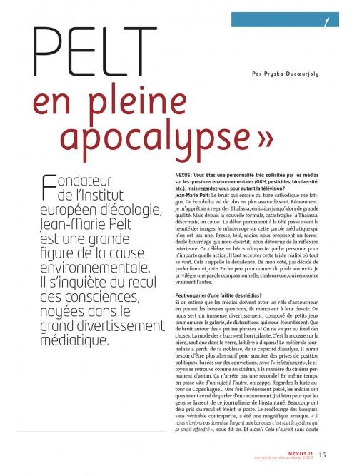 NEX071-J.-M.-Pelt-On-nage-en-pleine-apocalypse
