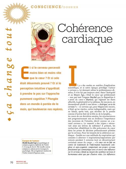 NEX103 Cohérence cardiaque nouvelles lumières sur l'intuition