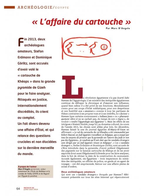 NEX093-Kheop-le-cartouche-qui-relance-l-enigme